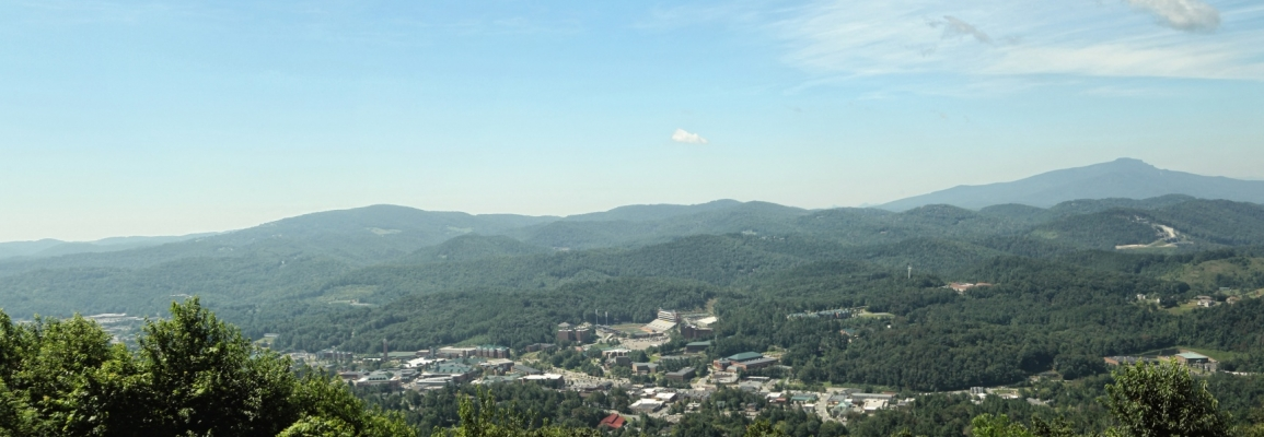 Boone in spring