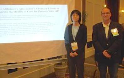 Lisa Nguyen and Peacock