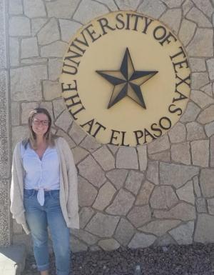 Anna Biache at UTEP