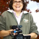 Dr. Beth Davison with camera