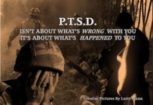 PTSD isn't about what's wrong with you, it's about what happened to you